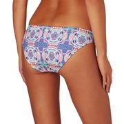 Roxy Printed Strappy Love Reversible foots Womens Bikini Bottoms