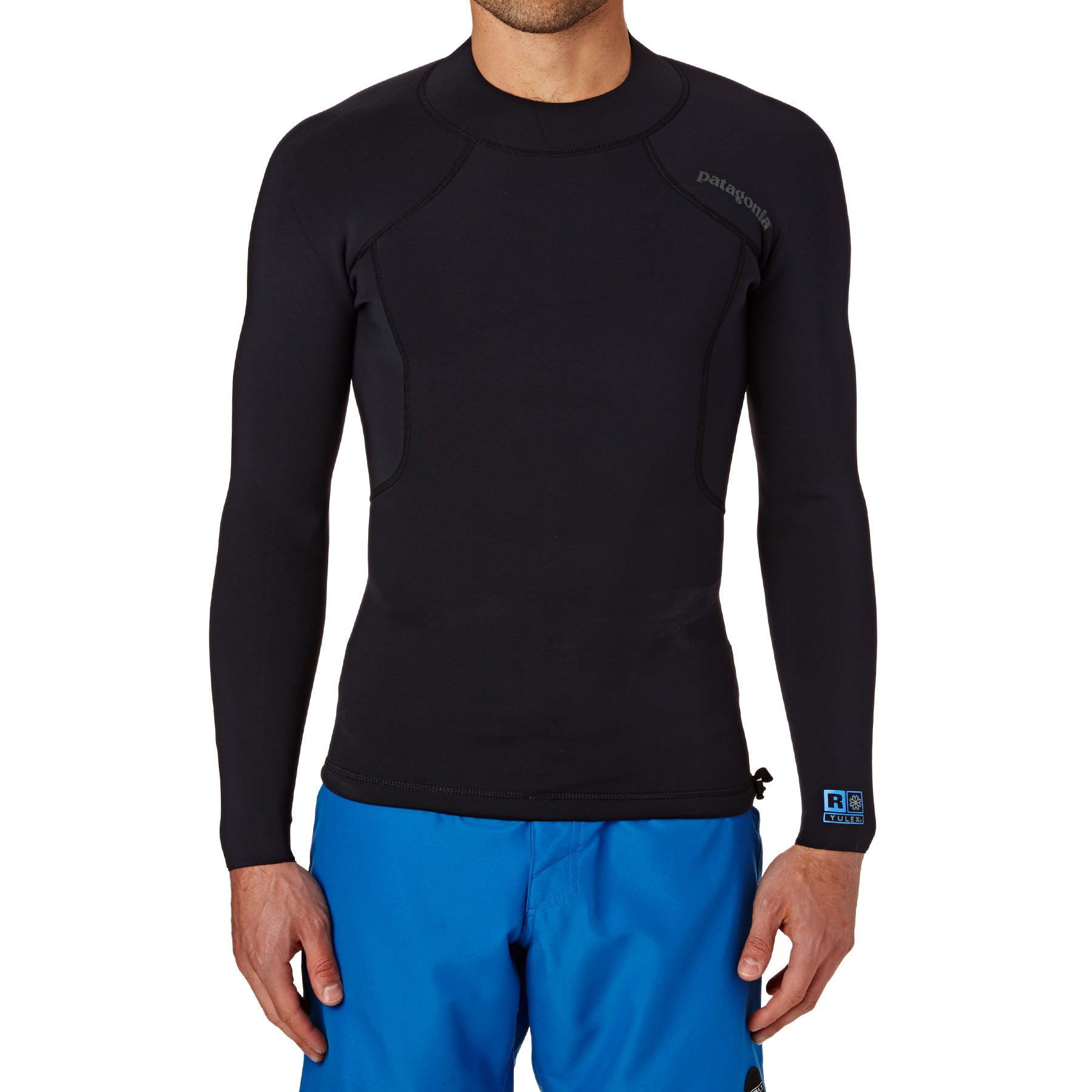 Combinaison de Plongée Patagonia 1.5mm Mens R1 Lite Yulex Long Sleeve Top - Black