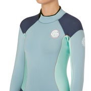 Rip Curl Dawn Patrol 2mm Back Zip Long Sleeve Shorty Womens Wetsuit