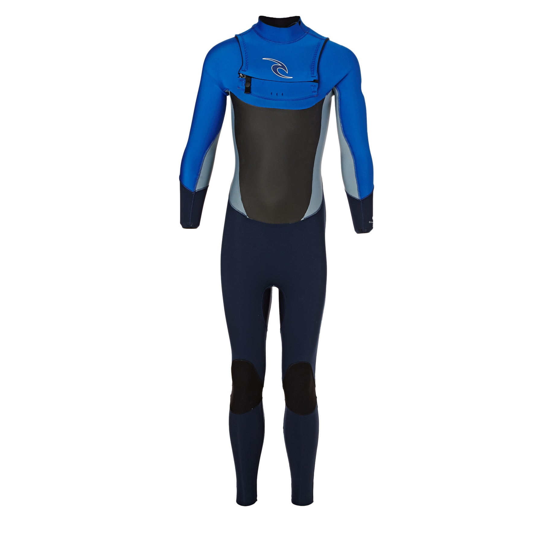 Rip Curl Dawn Patrol 3/2mm Chest Zip Boys Wetsuit - Blue