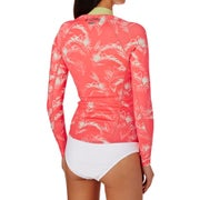 Billabong Womens Surf Capsule 1mm 2017 Front Zip Long Sleeve Jacket Womens Wetsuit