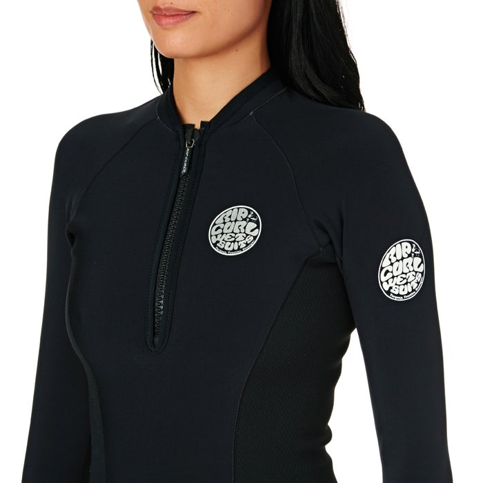 Wetsuit Jacket Rip Curl G Bomb 1mm 2019 Front Zip Long Sleeve