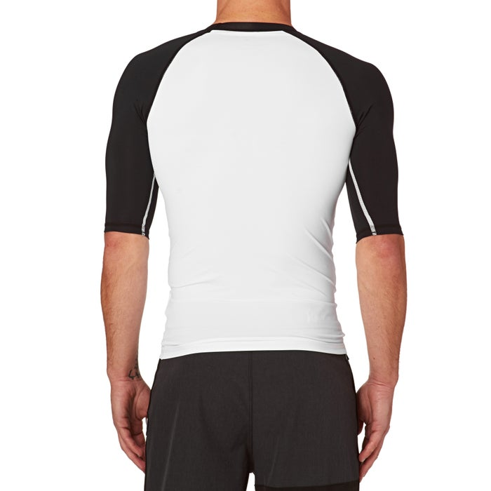 Hurley One And Only Short Sleeve Rash Vest