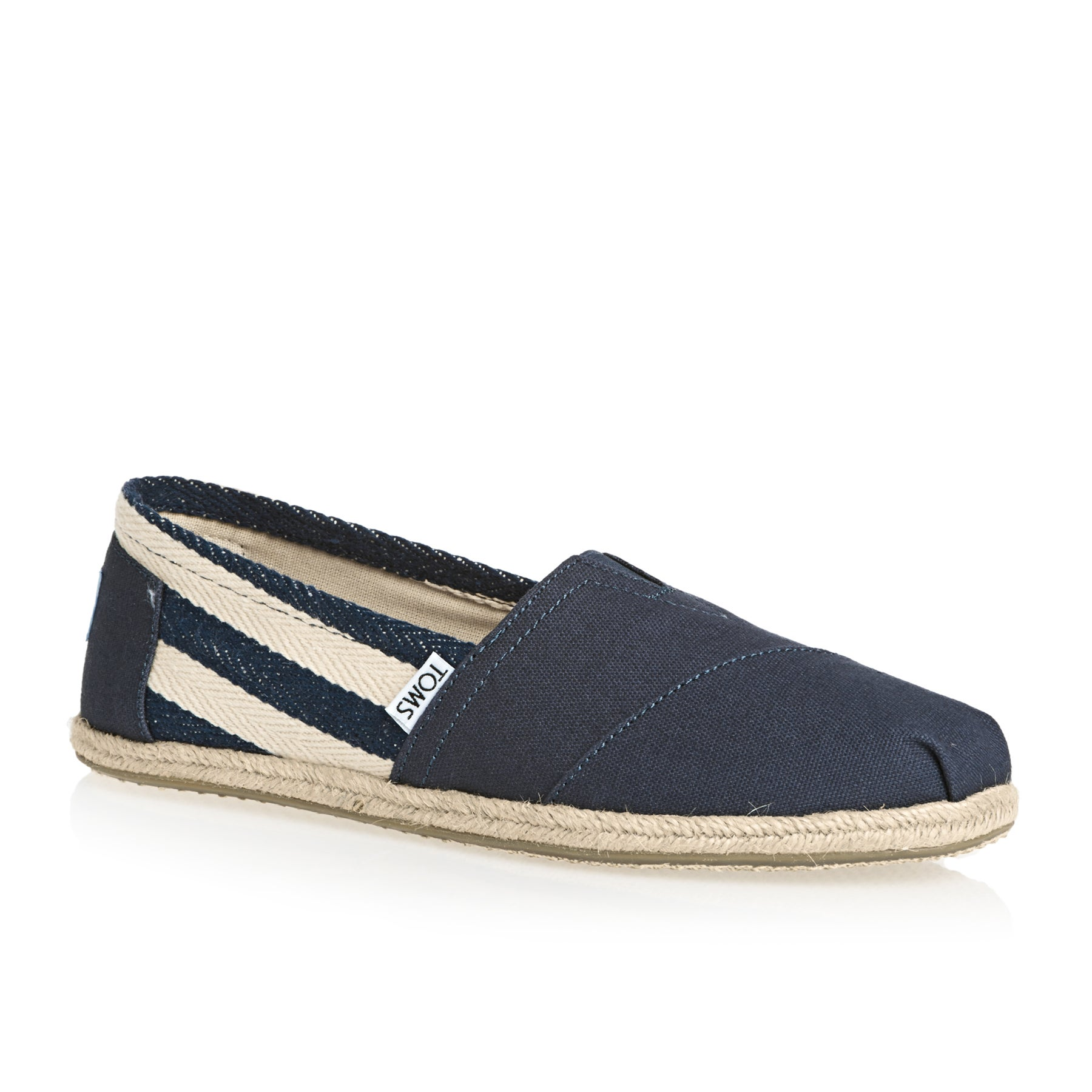 a15c881fc0c Toms University Classic Alpargata Womens Slip On Shoes available ...