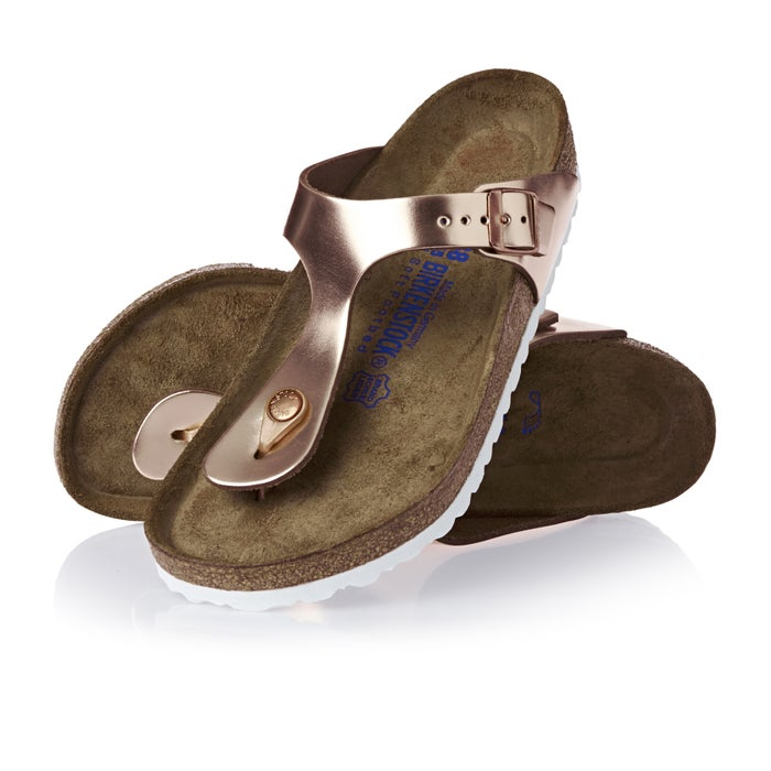 5f17fd24312 Birkenstock Gizeh Natural Leather Soft Footbed Sandals available ...