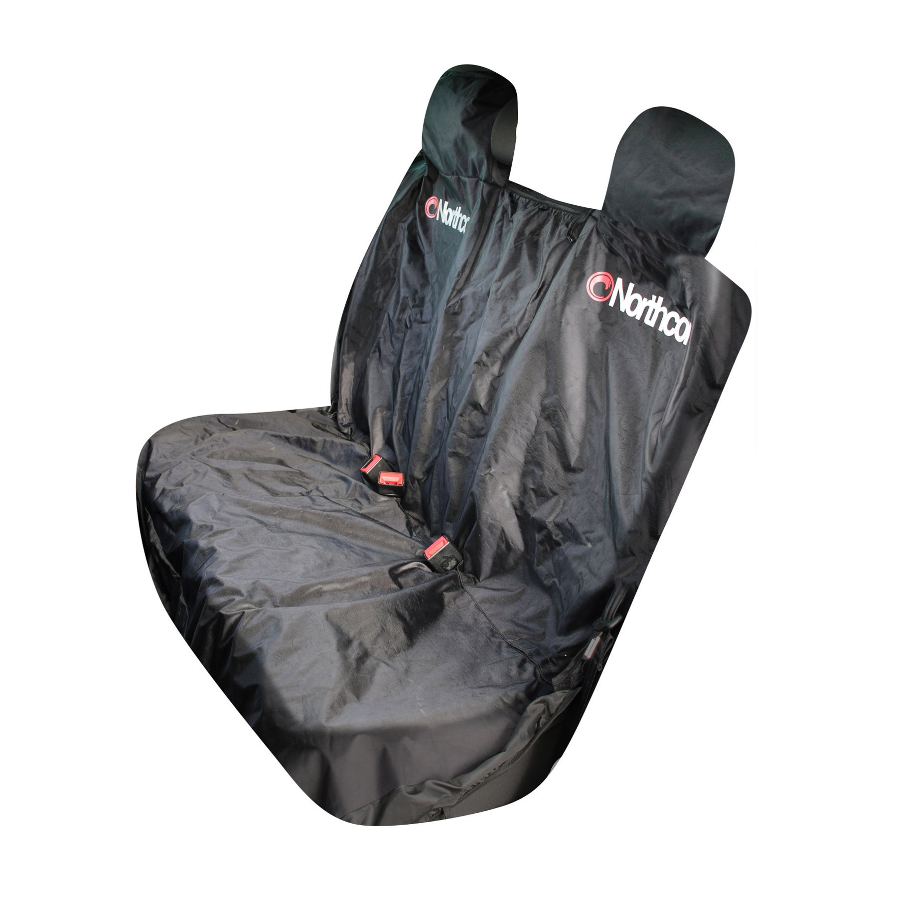 Northcore Triple Rear Car Seat Cover - Black