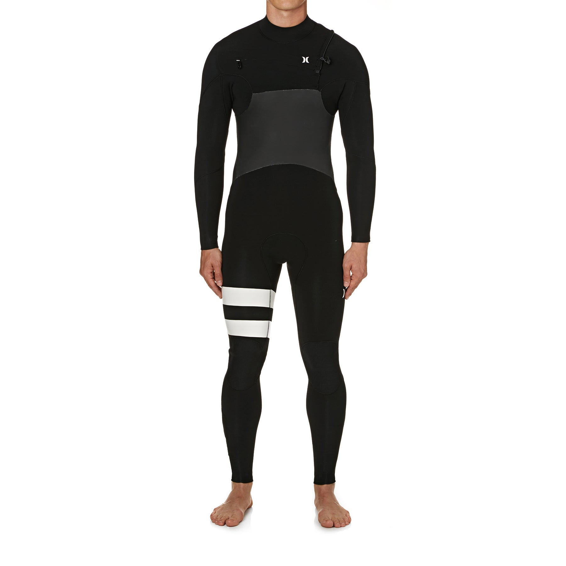Hurley Advantage Plus 4/3mm 2019 Chest Zip Wetsuit - Black