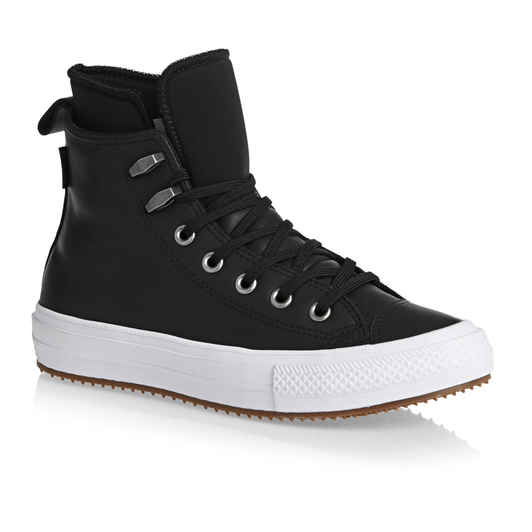 Converse Chuck Taylor All Star Waterproof Womens Shoes - Black/White