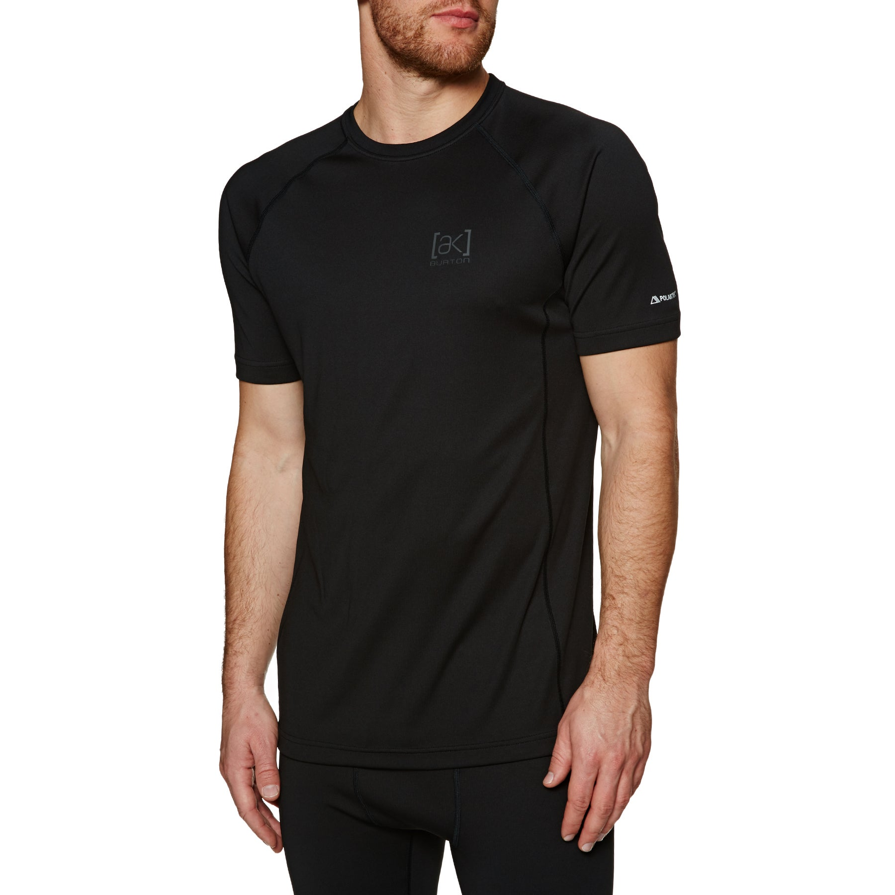 Burton Power Grid Thermal SS Podstawowy top - True Black