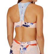 Haut de maillot de bain Roxy Pop Surf High Neck