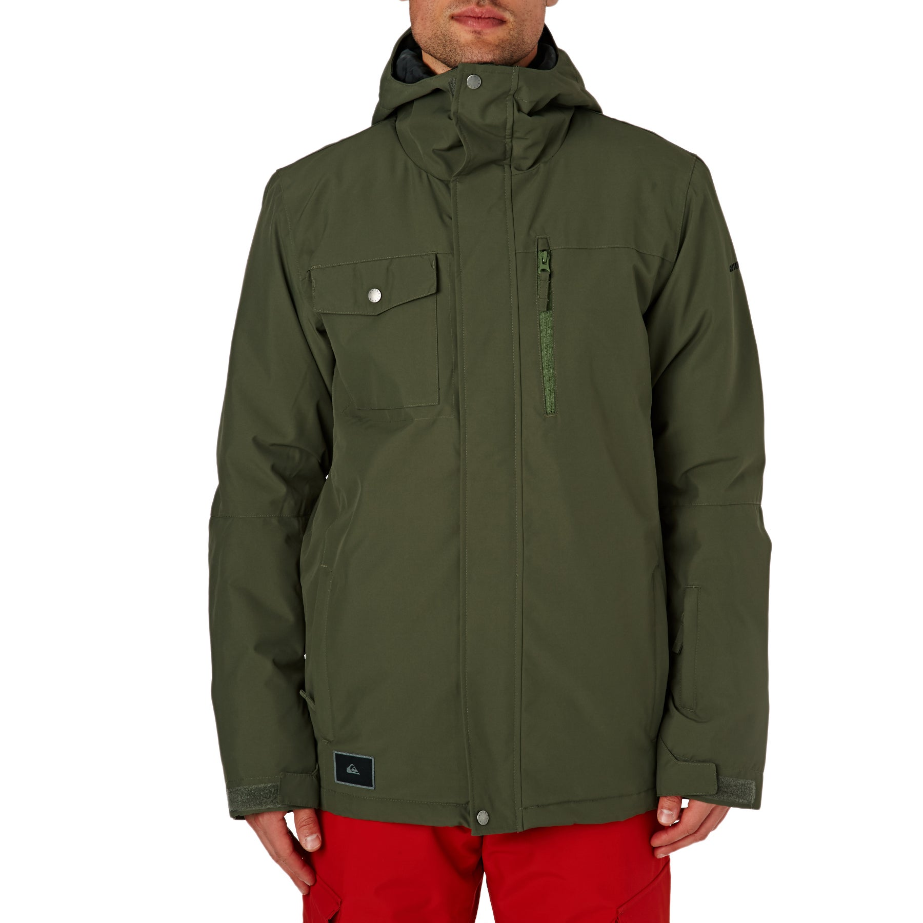 Chaqueta de snowboard Quiksilver Mission - Grape Leaf