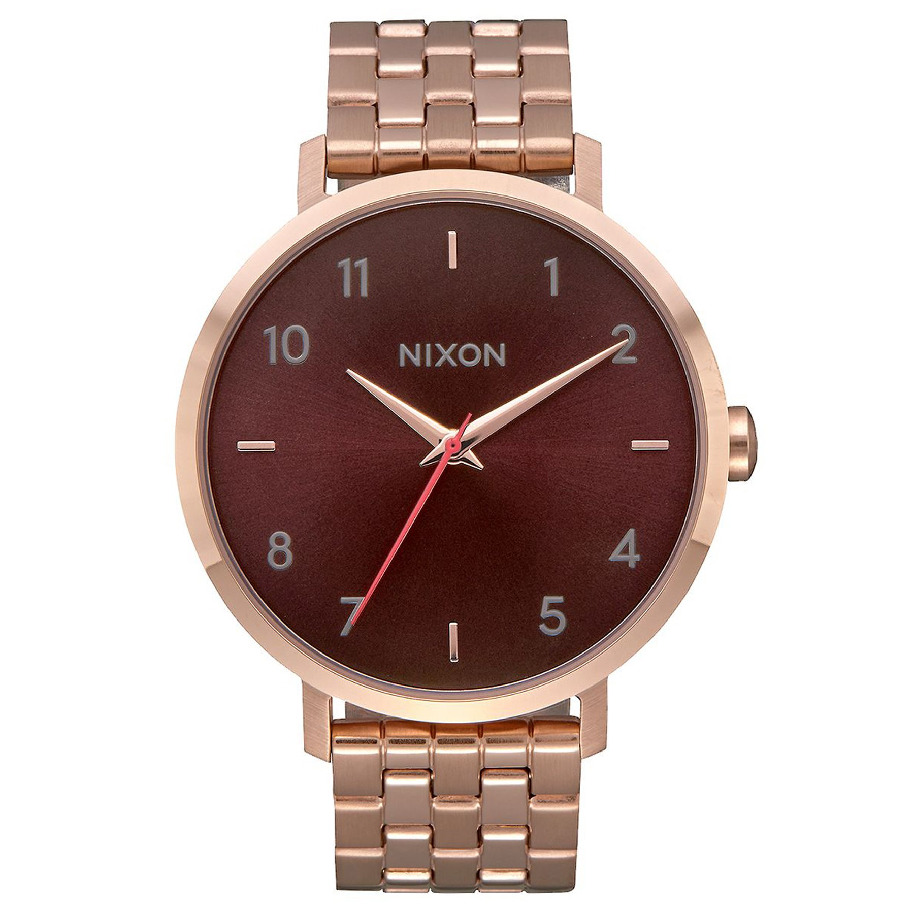 Montre Femme Nixon Arrow - All Rose Gold Brown