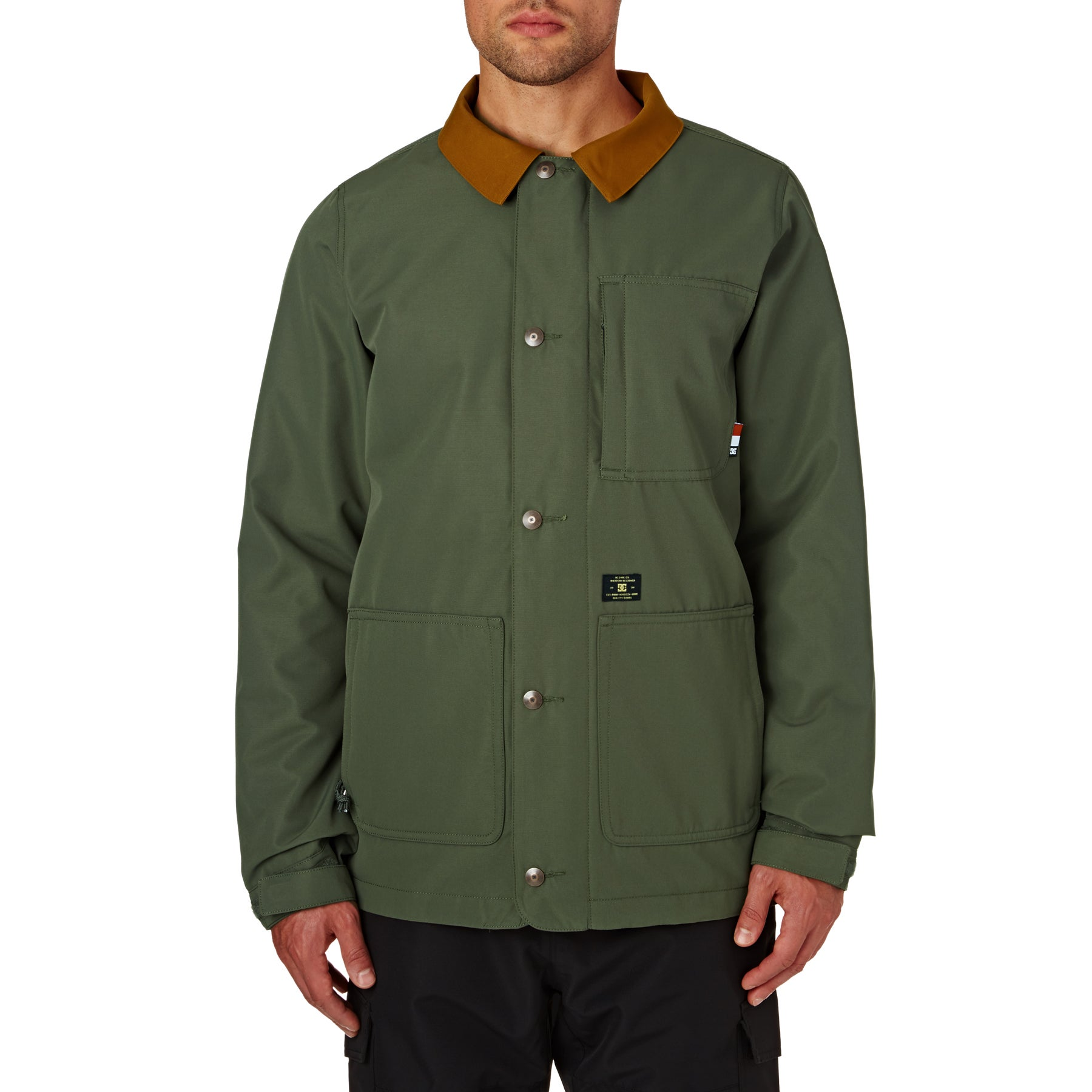 DC Operative Shacket Boarding shirt - Beetle