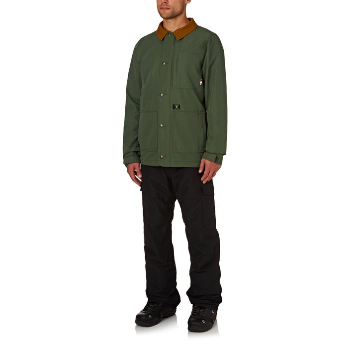 DC Operative Shacket Boarding Shirt