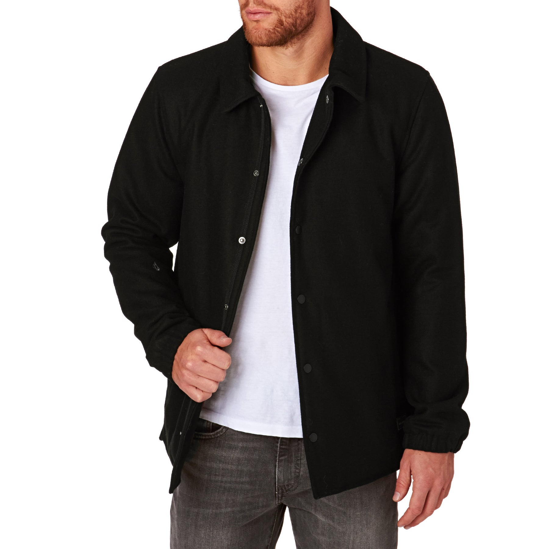 Volcom Along The Line Jacke - Black