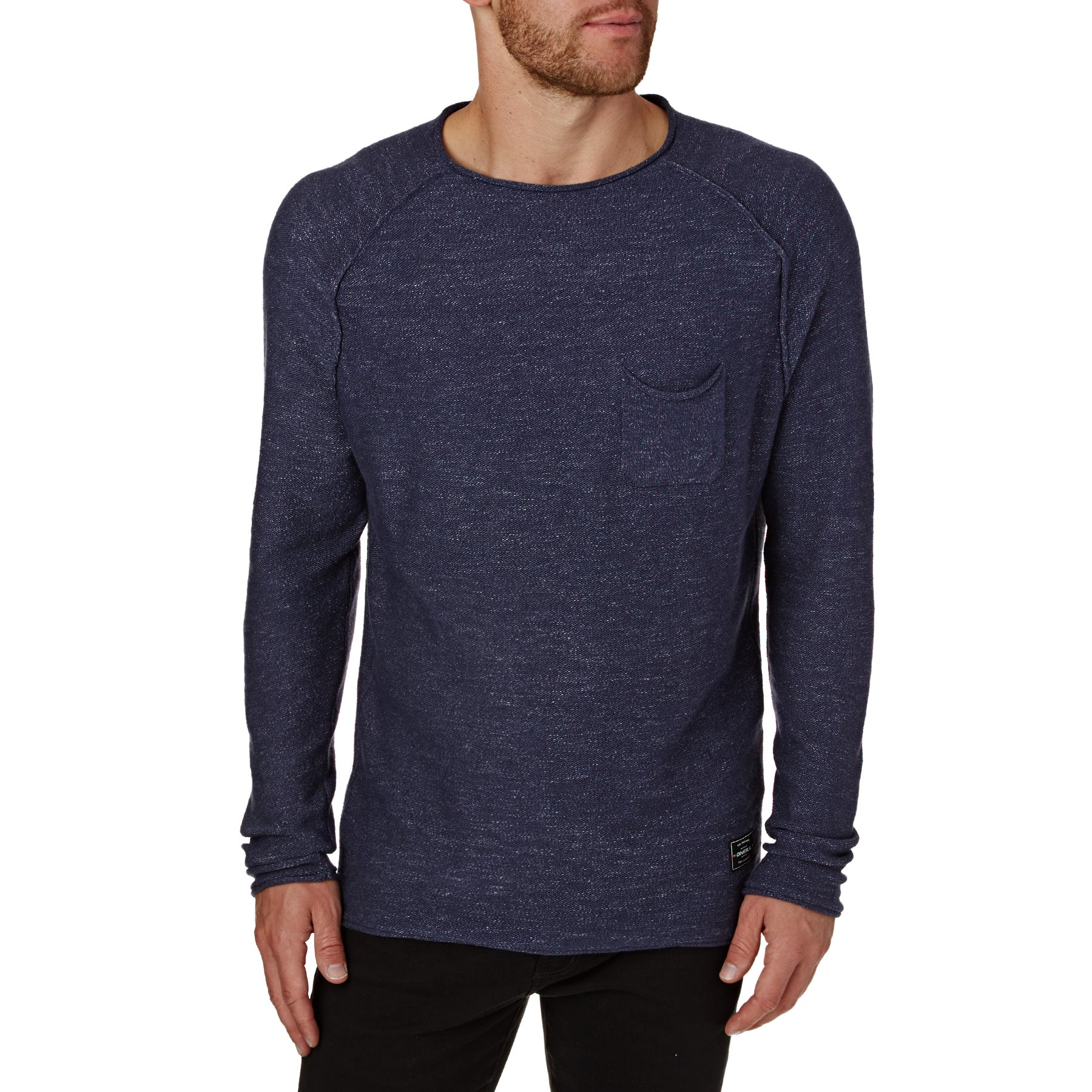 O Neill Jacks Base Pullover Sweater - Ink Blue