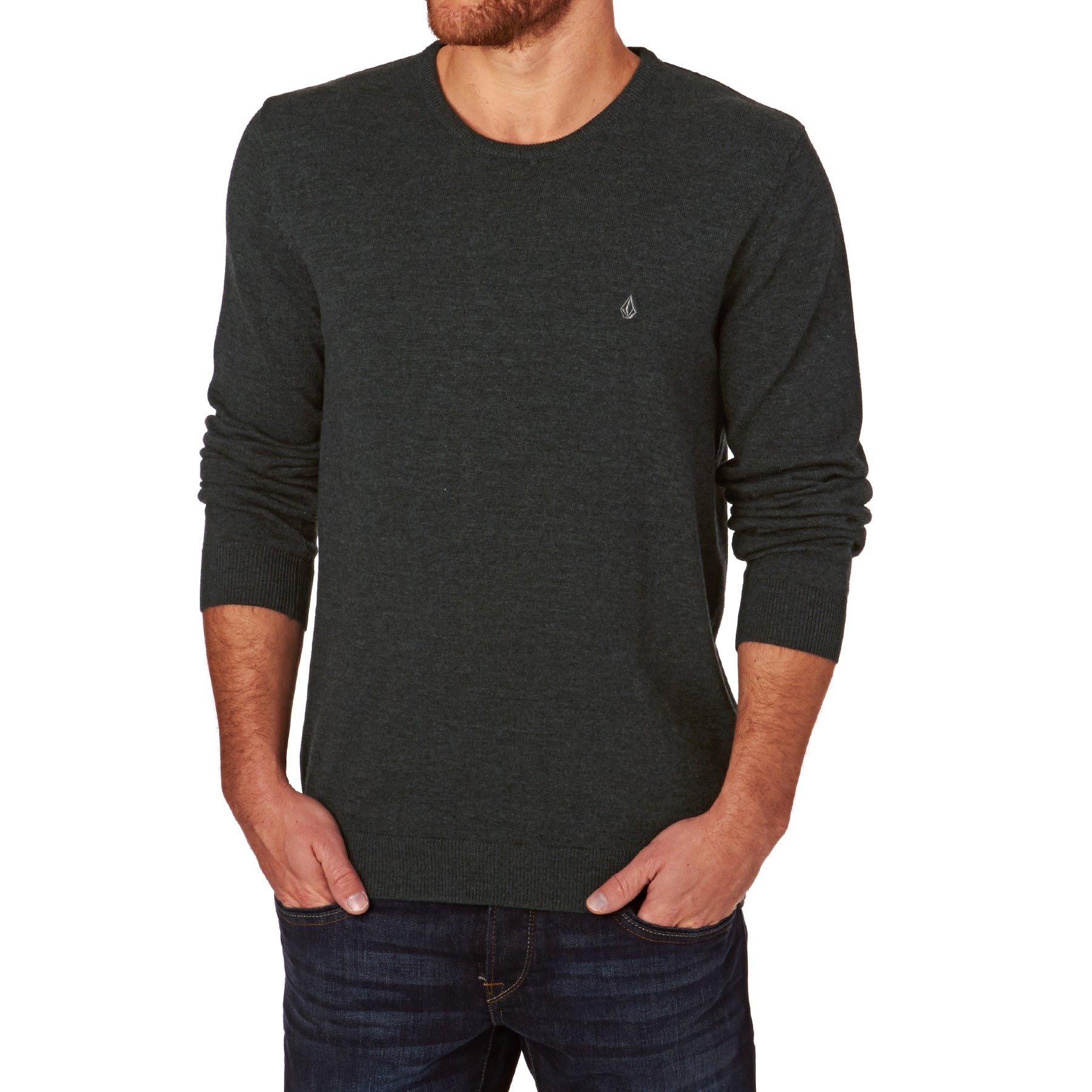 Sweater Volcom Uperstand Crew - Black