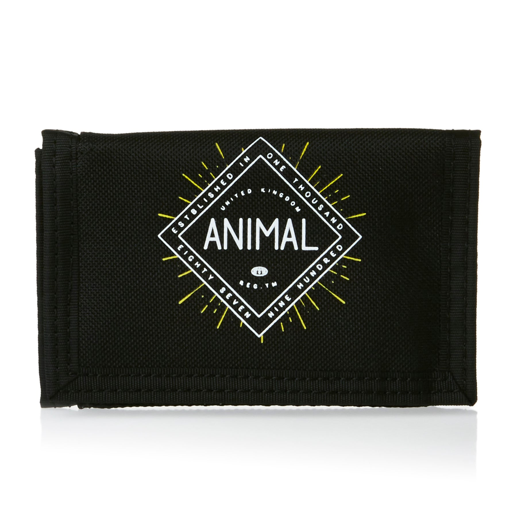 Animal Clifton Wallet - Black