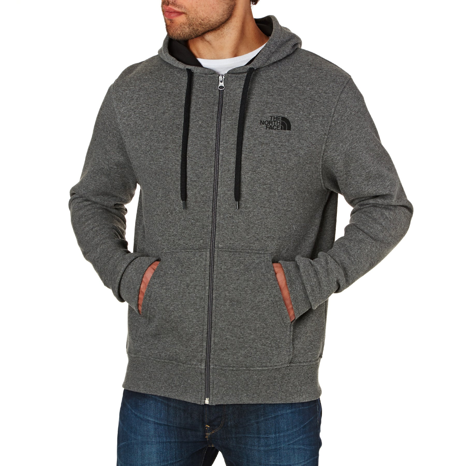 North Face Open Gate Zip Hoody - Grey