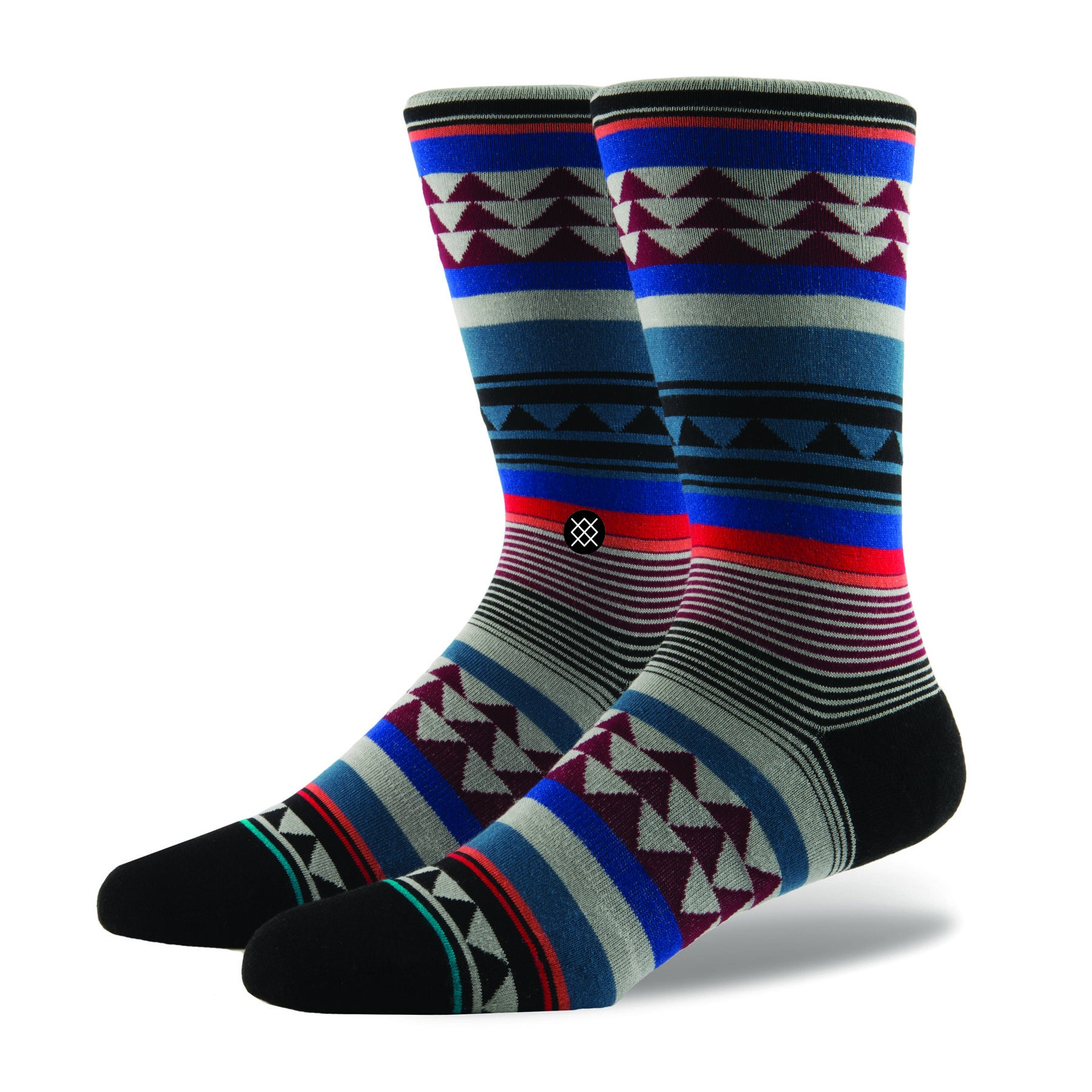 Stance Foundation Creek Socks - Clear