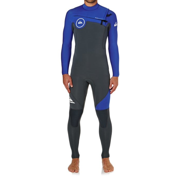 b61787fa80 Quiksilver 4-3mm 2018 Syncro Chest Zip Wetsuit