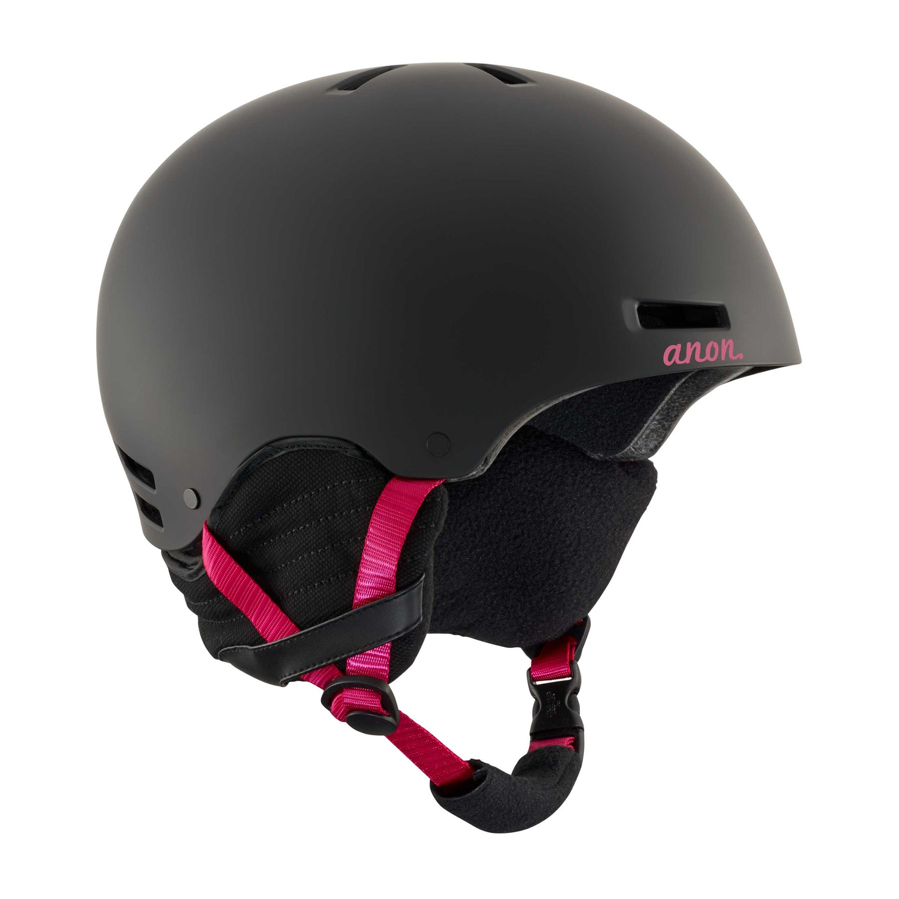 Anon Greta Womens Ski Helmet - Black Cherry