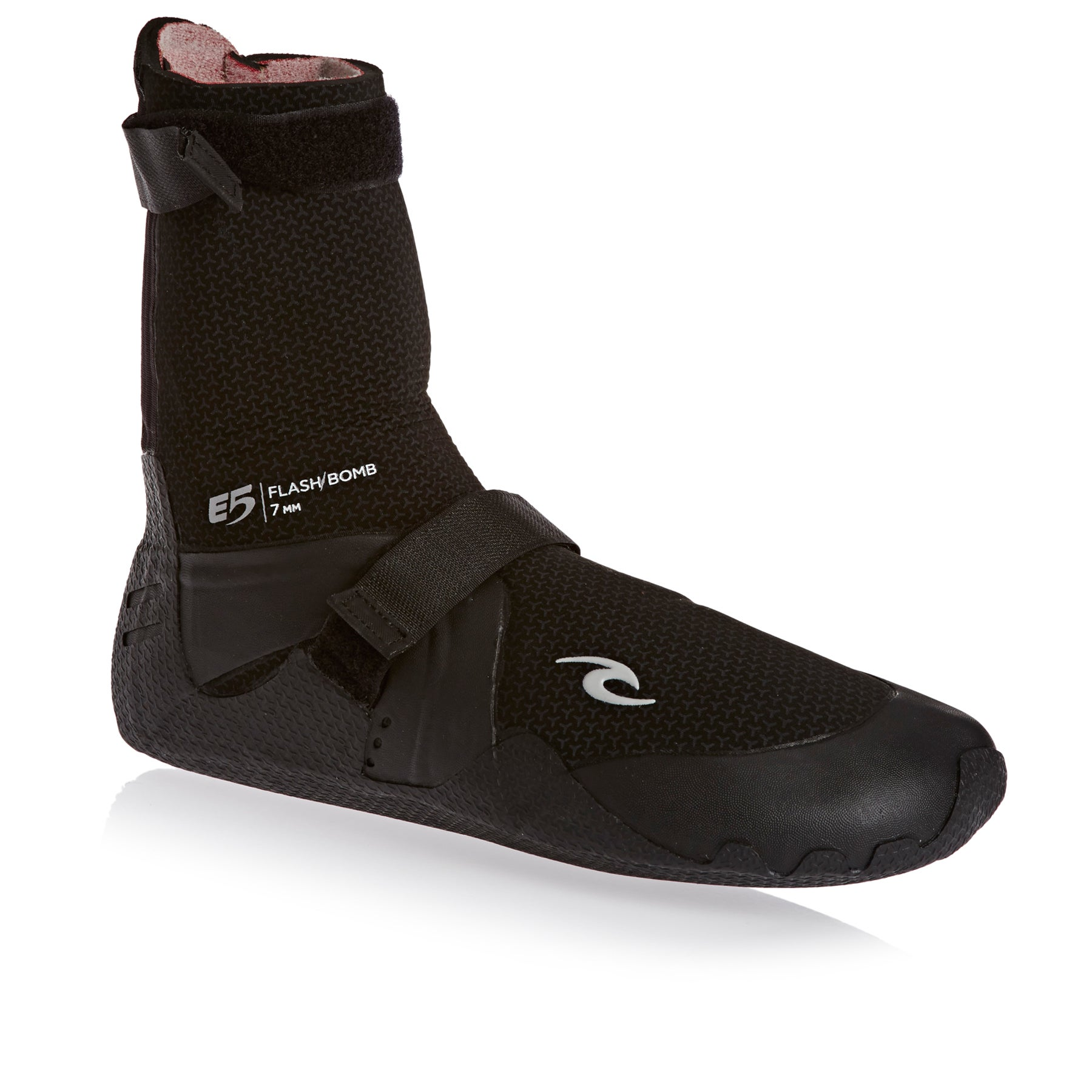 Rip Curl Flashbomb 7mm 2018 Round Toe Neoprenstiefel - Black