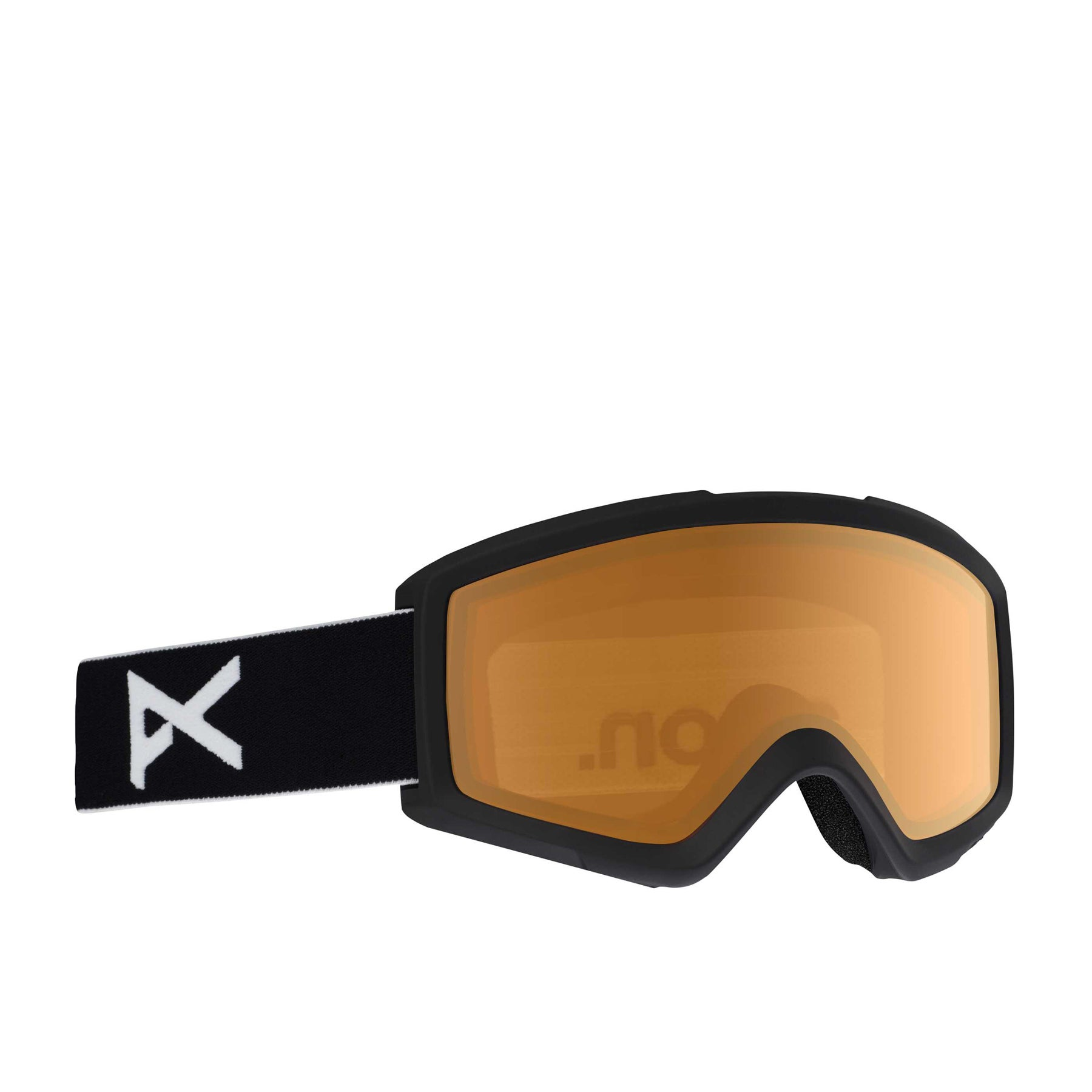 Anon Black Helix 20 Schneebrille - Amber