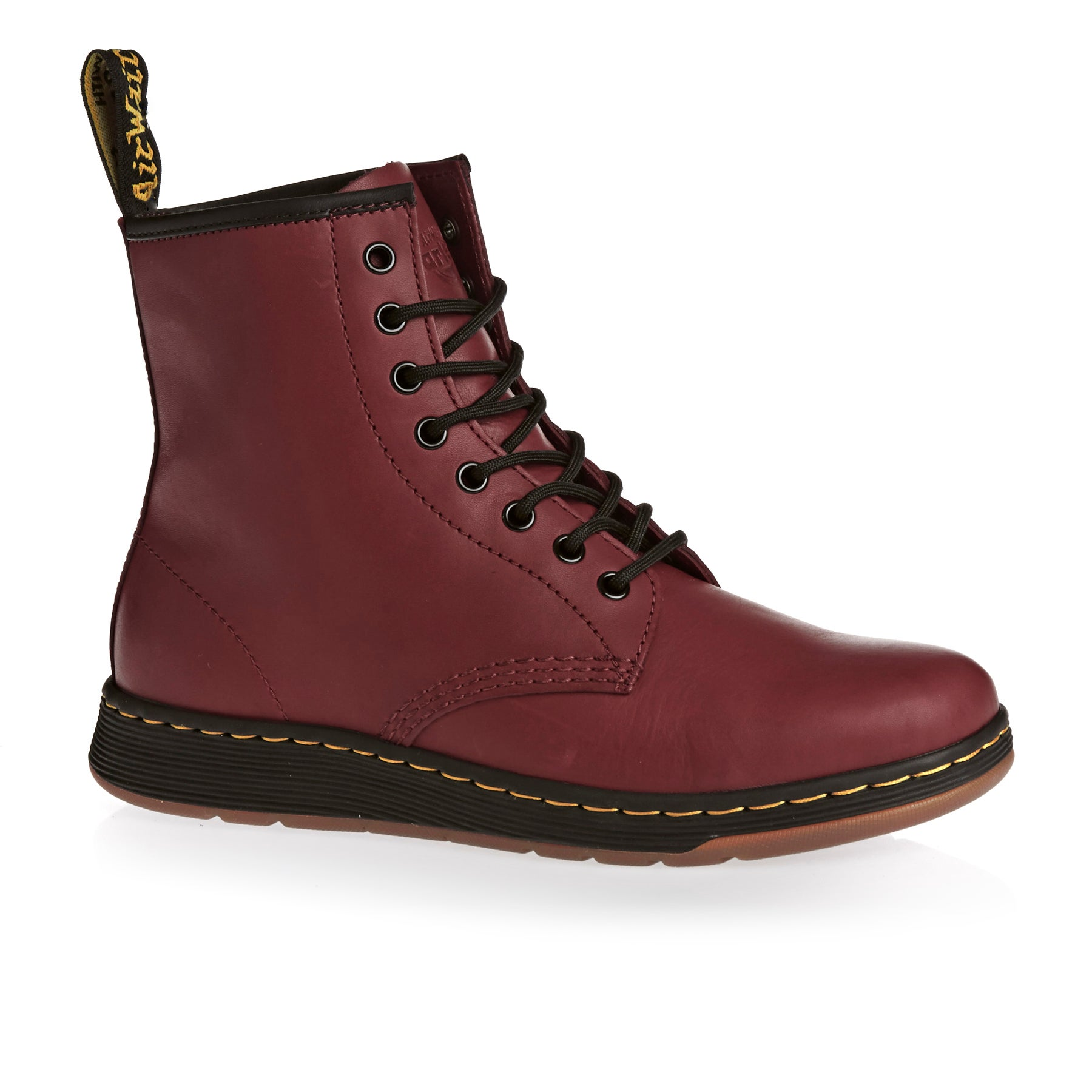 Dr Martens Newton Boots - Cherry Red
