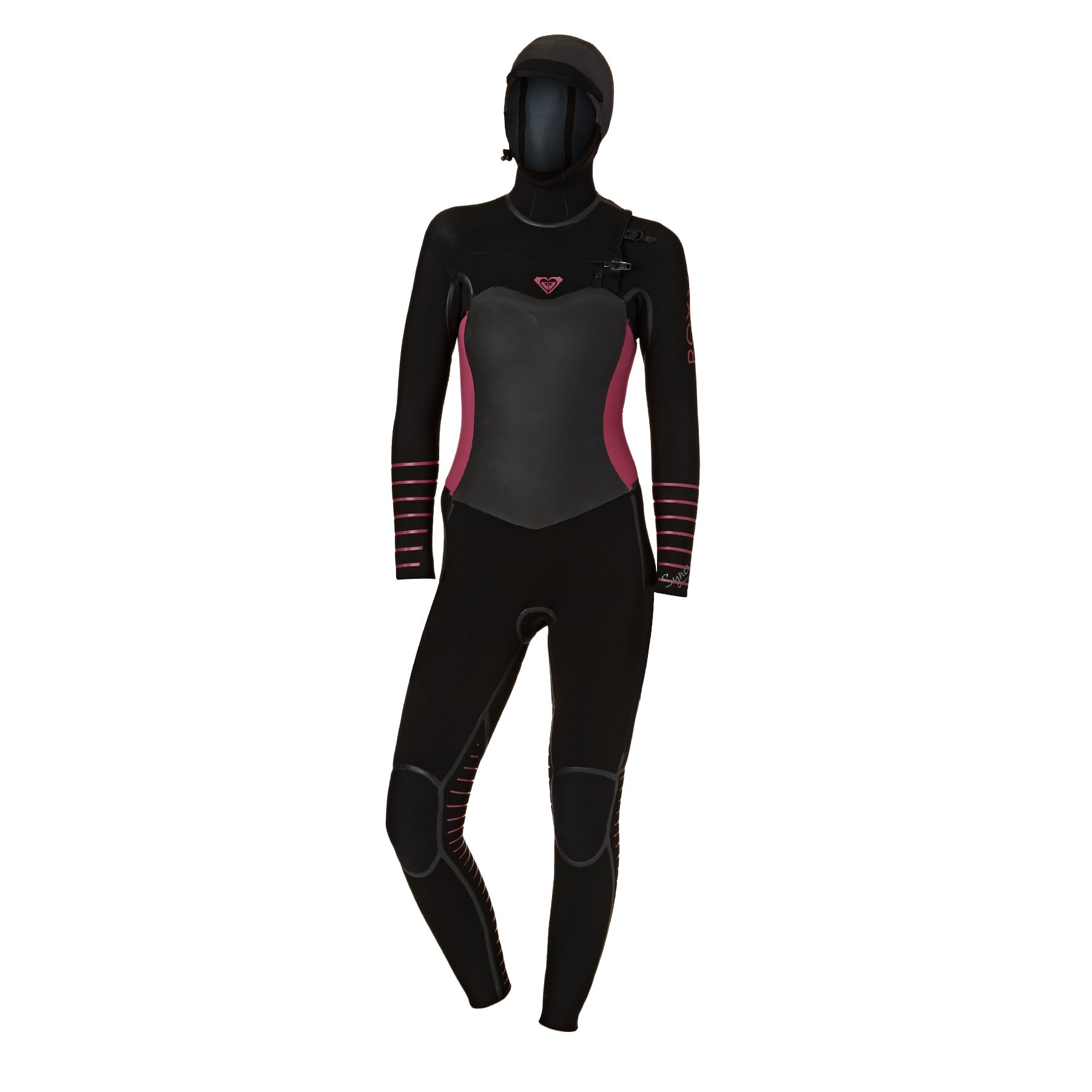 bf8e3a88a6941 Roxy 5 4 3mm 2018 Womens Syncro Plus Hooded Chest Zip Womens Wetsuit ...