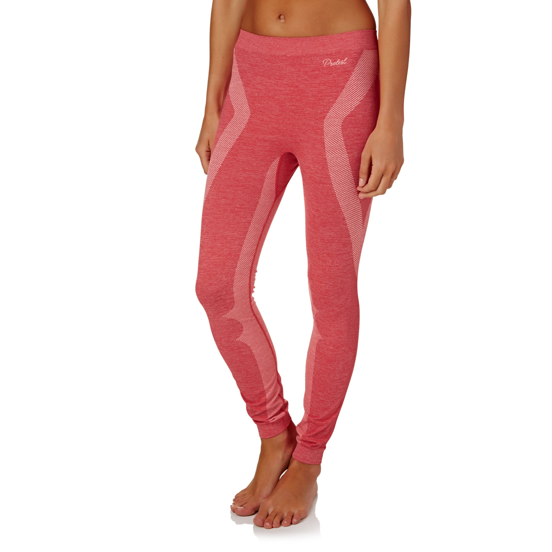 Leggings Seconde Peau Femme Protest Becky Thermo - Fluor Pink