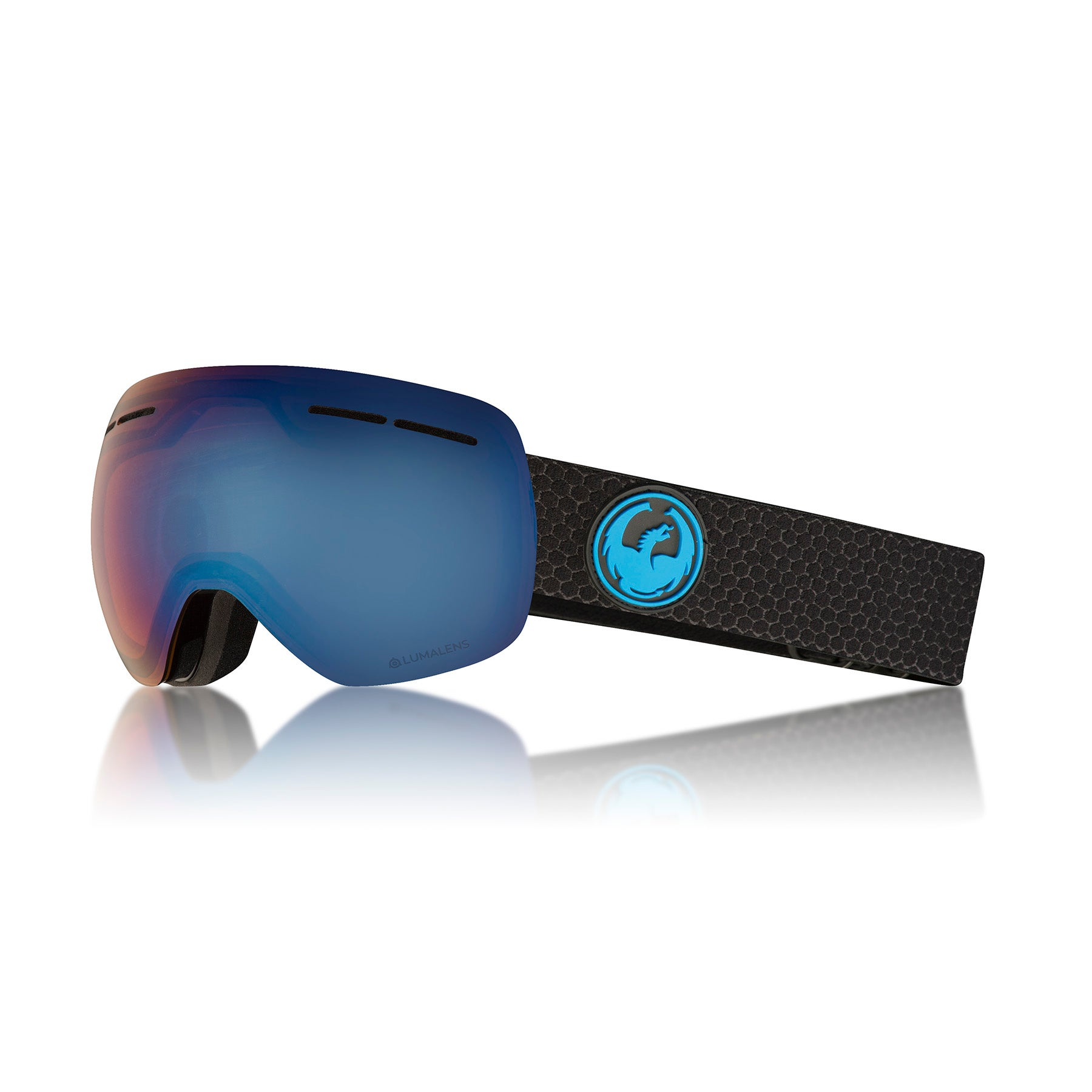 Dragon X1S Snow Goggles - Split ~ LumaLens Blue Ion