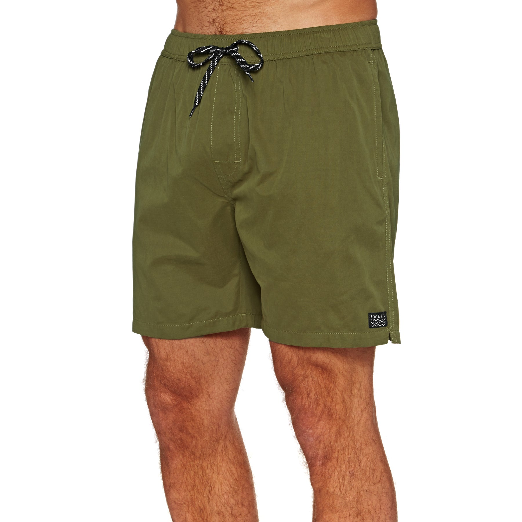 SWELL Ryder Beach Shorts - Military