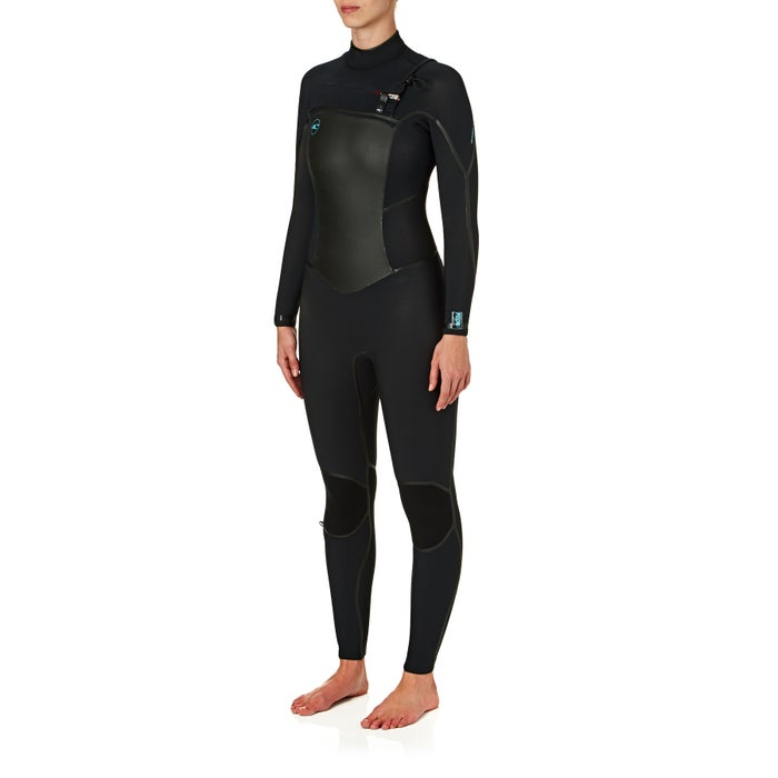 Combinaison de Plongée Femme O Neill Psycho Tech 5/4mm 2018 Chest Zip
