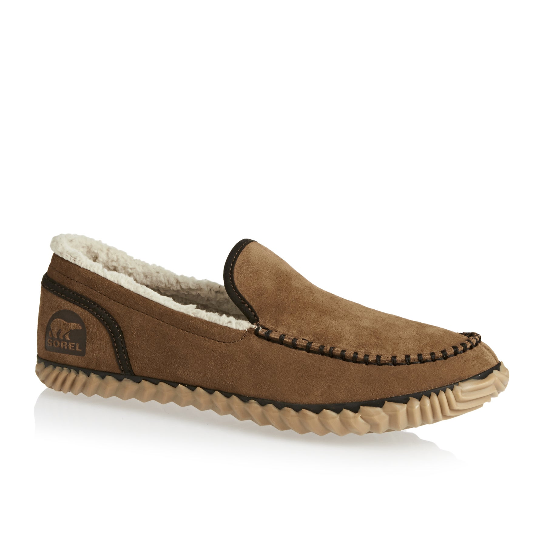 Sorel Dude Moc Slippers - Grizzly Bear