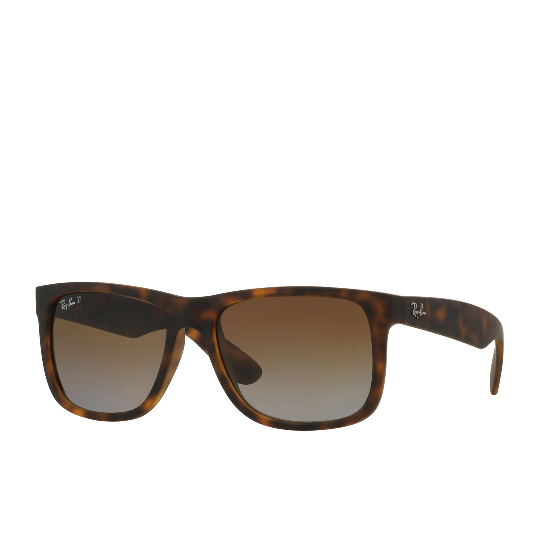 Ray-Ban Justin Sunglasses - Polarised   Havana ~ Brown Gradient