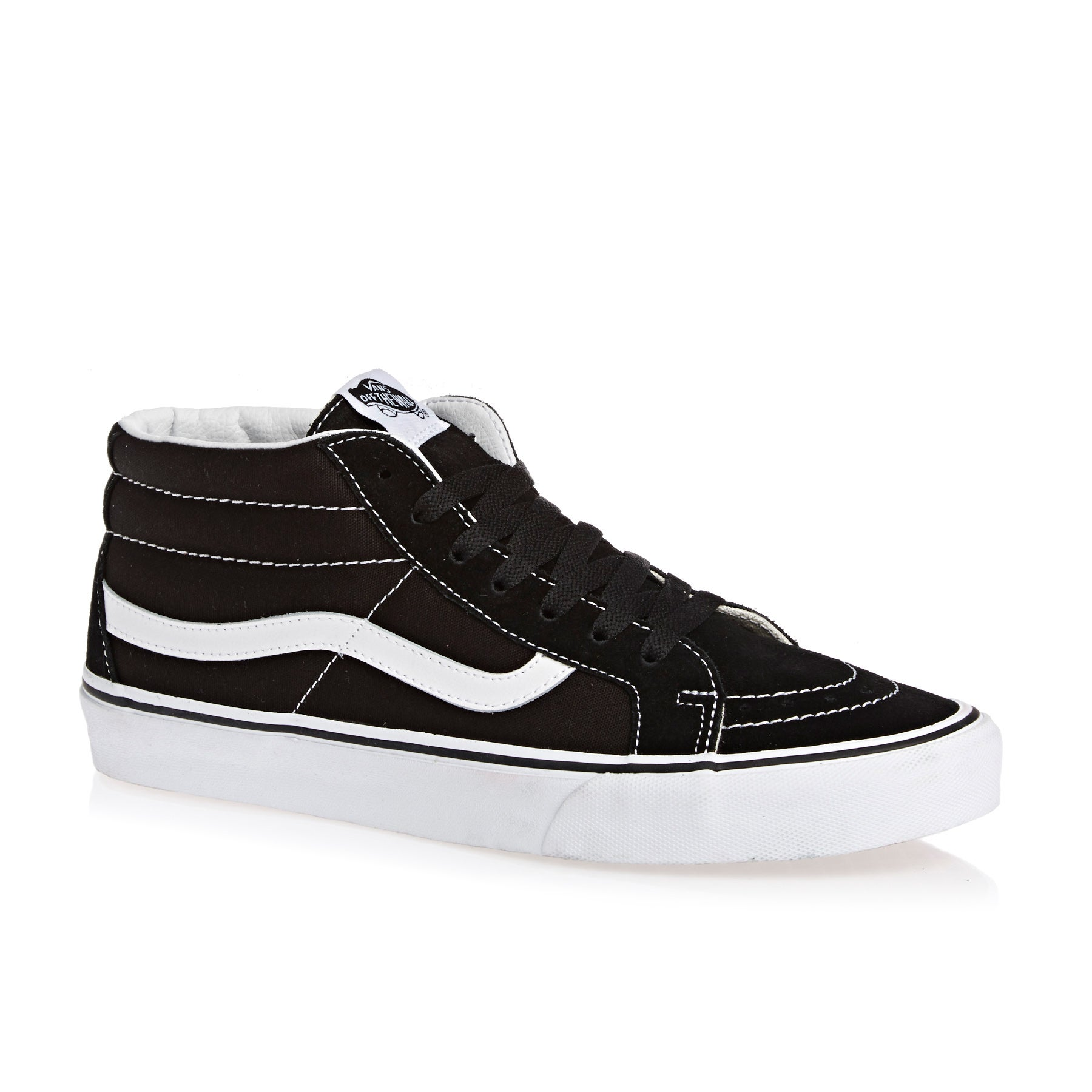 Vans SK8 Mid Reissue Shoes - Black True White