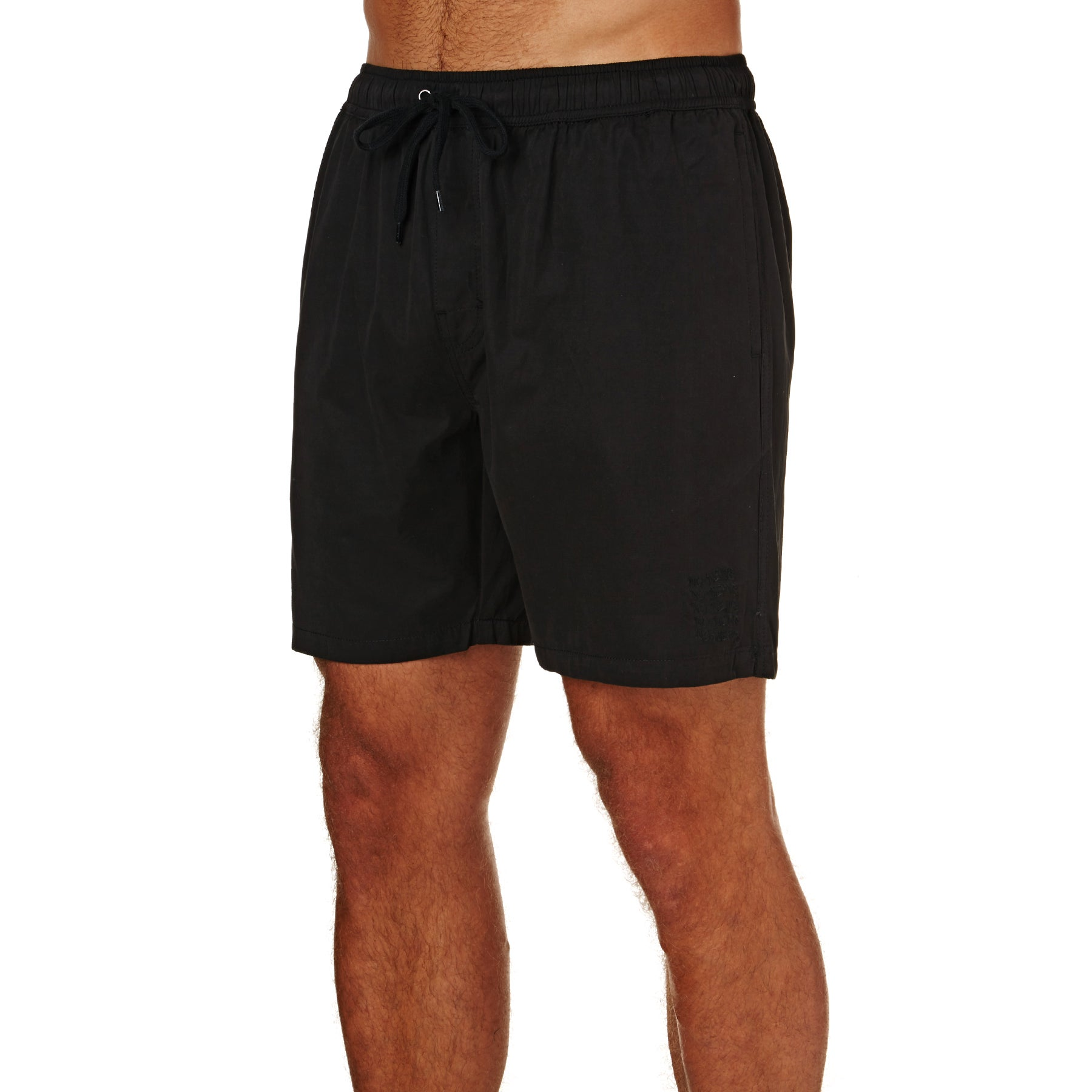 No News Trinity Beach Spazier-Shorts - Vintage Black