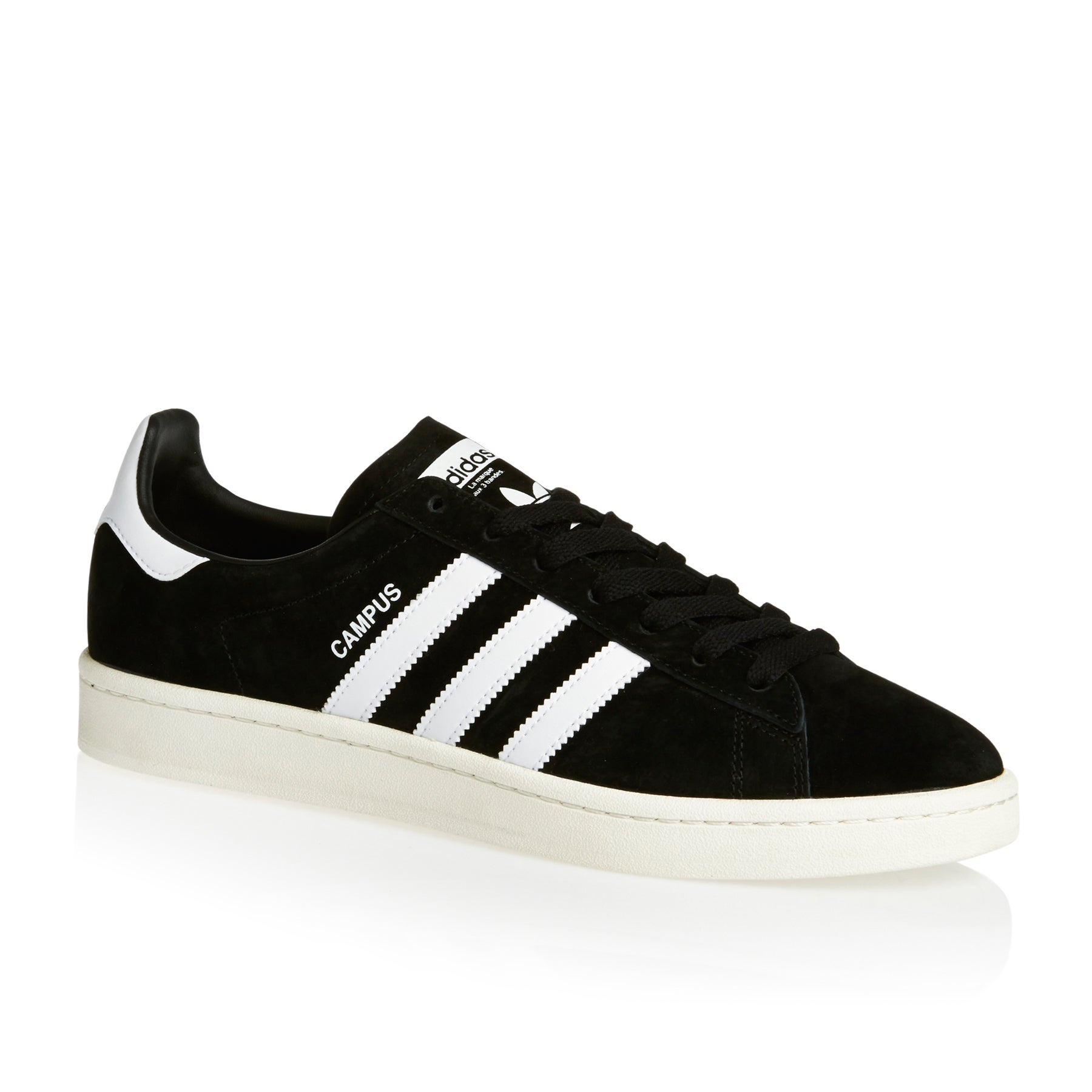 Adidas Originals Campus Shoes - Core Black White