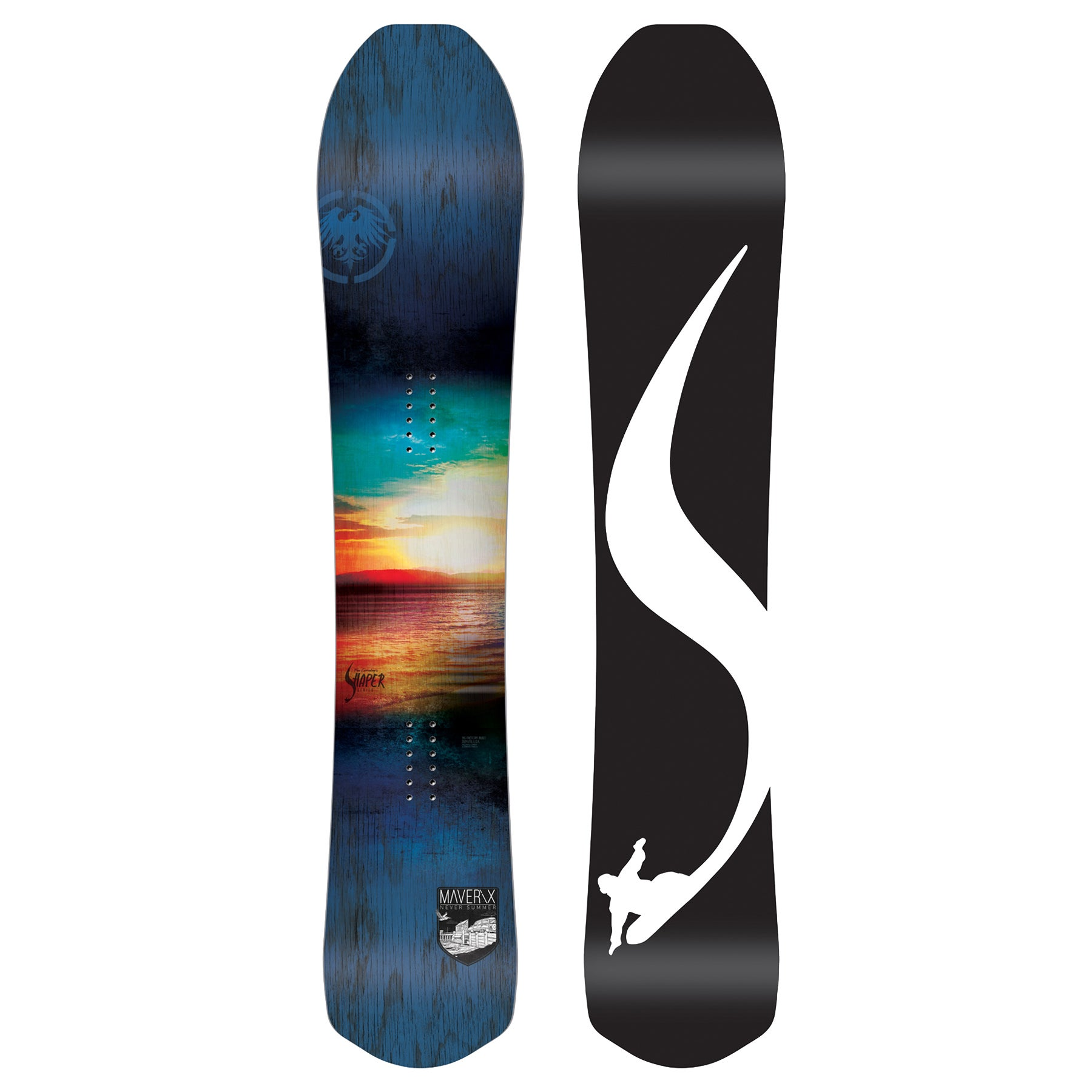 Never Summer Maverix 2018 Snowboard - All Sizes