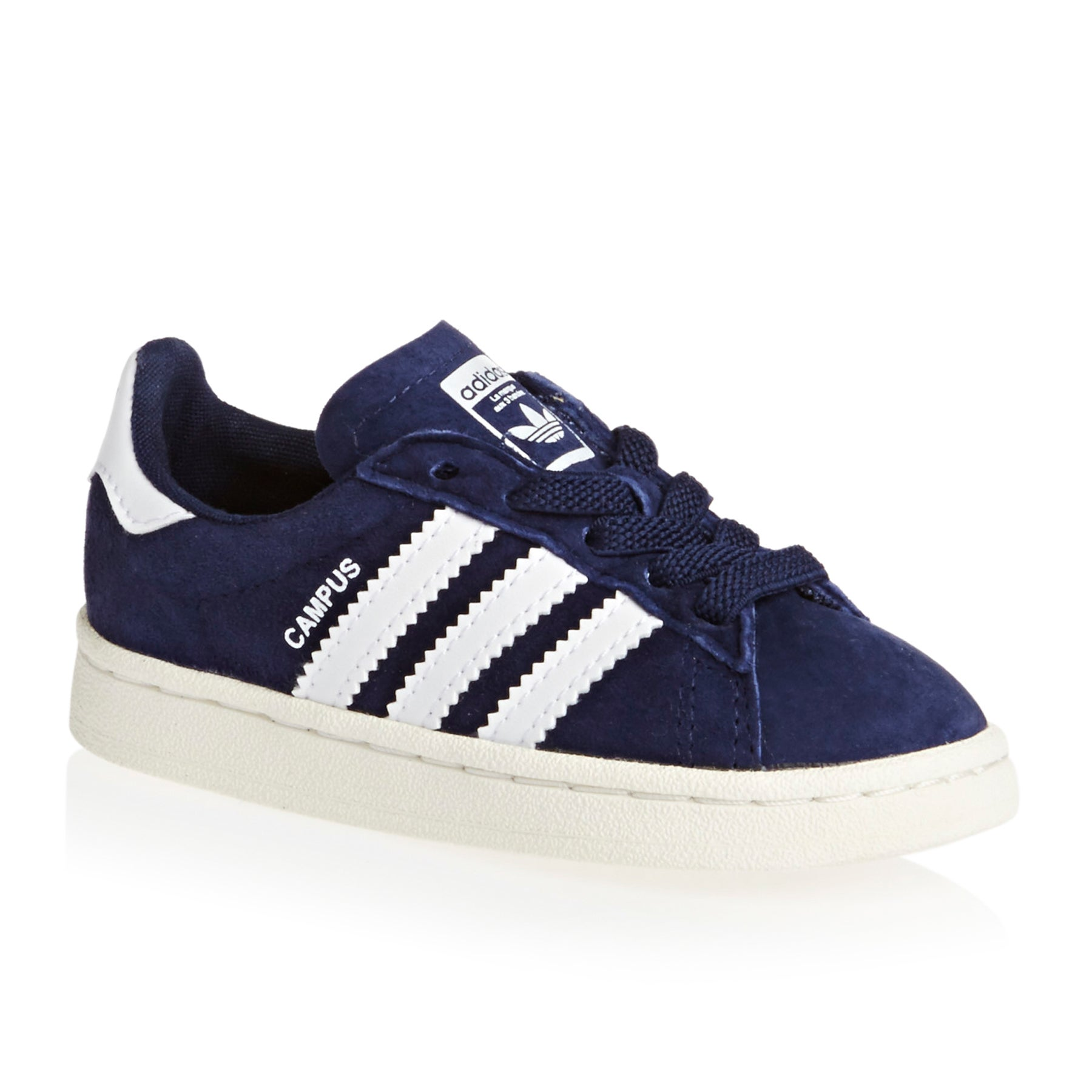 Adidas Originals Campus El Infant Boys Shoes - Dark Blue/White