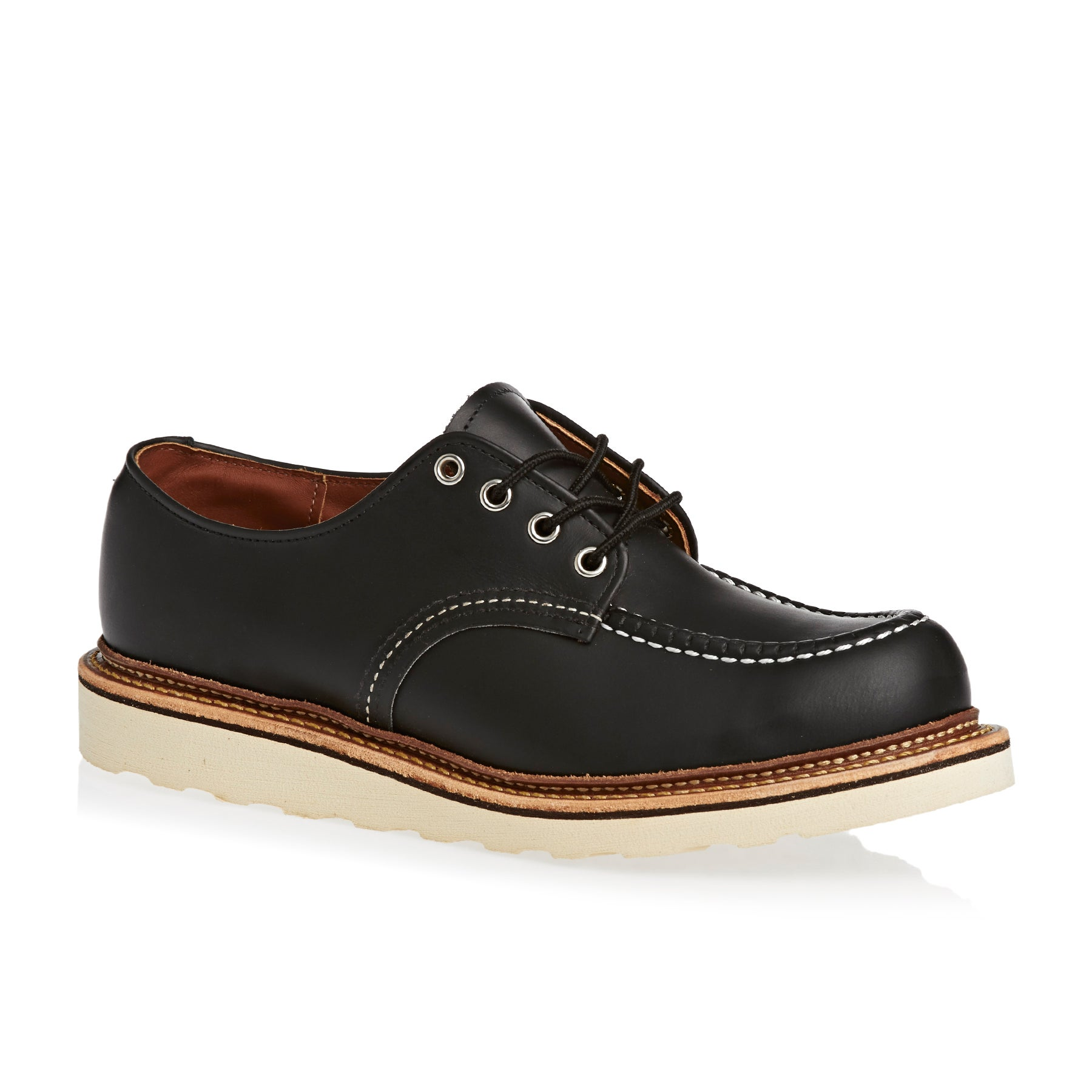 Red Wing Oxford Dress Shoes - Black Chrome
