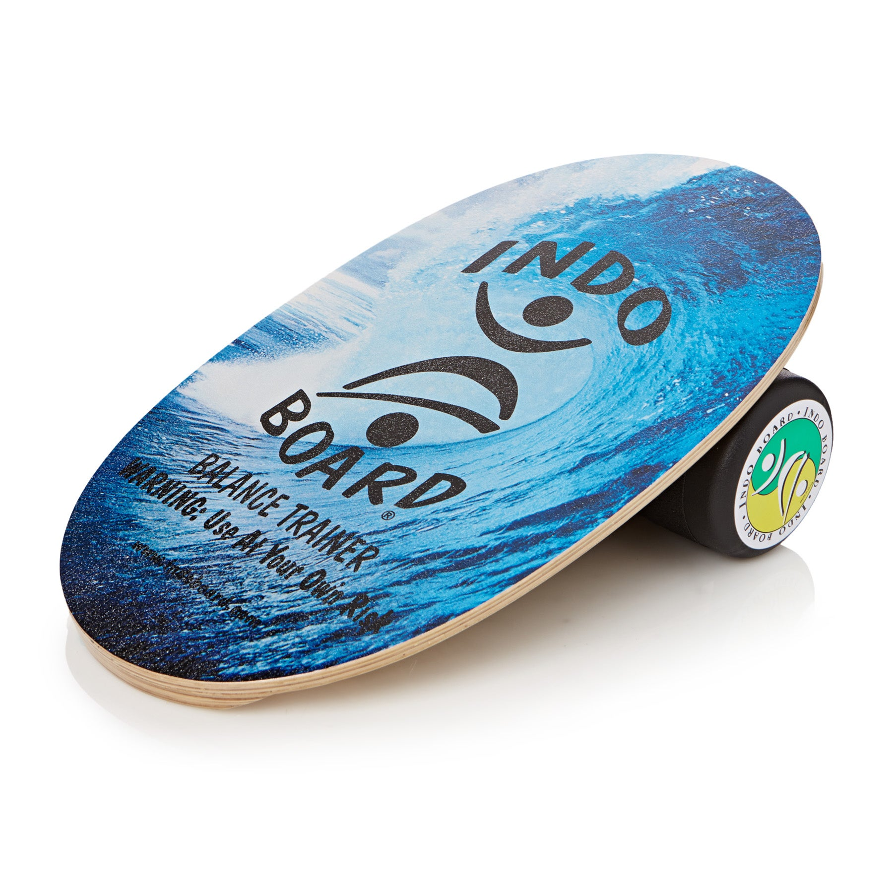 Balance Board With Roller: Indo Boards Original Graphics Deck And Roller Balance