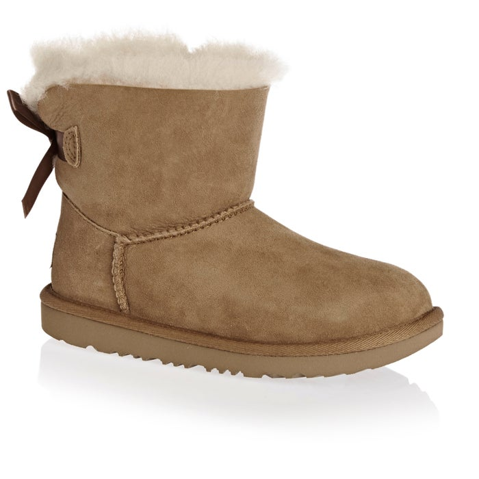 8b3ca2e4aed UGG Kids Mini Bailey Bow II Girls Boots | Free Delivery Options