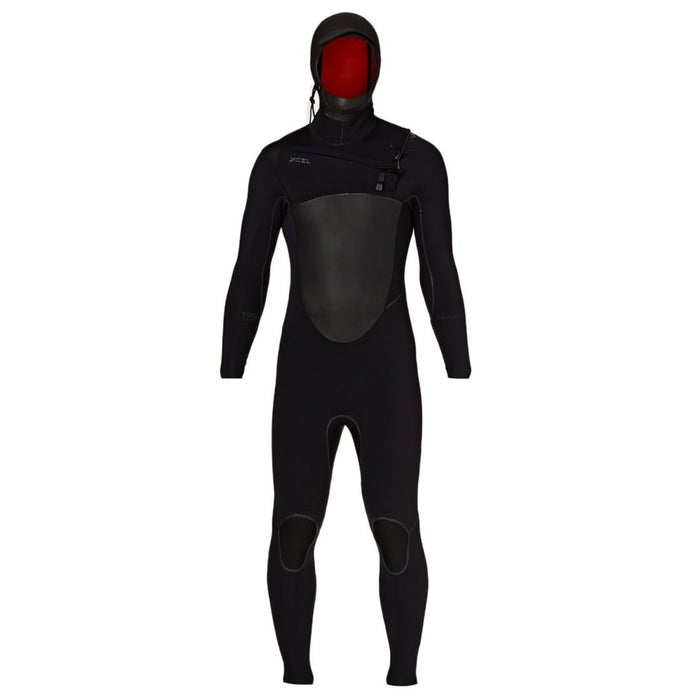 Xcel Drylock TDC 5/4mm 2018 Chest Zip Hooded Wetsuit