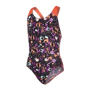Speedo All Over Splashback Girls Swimsuit