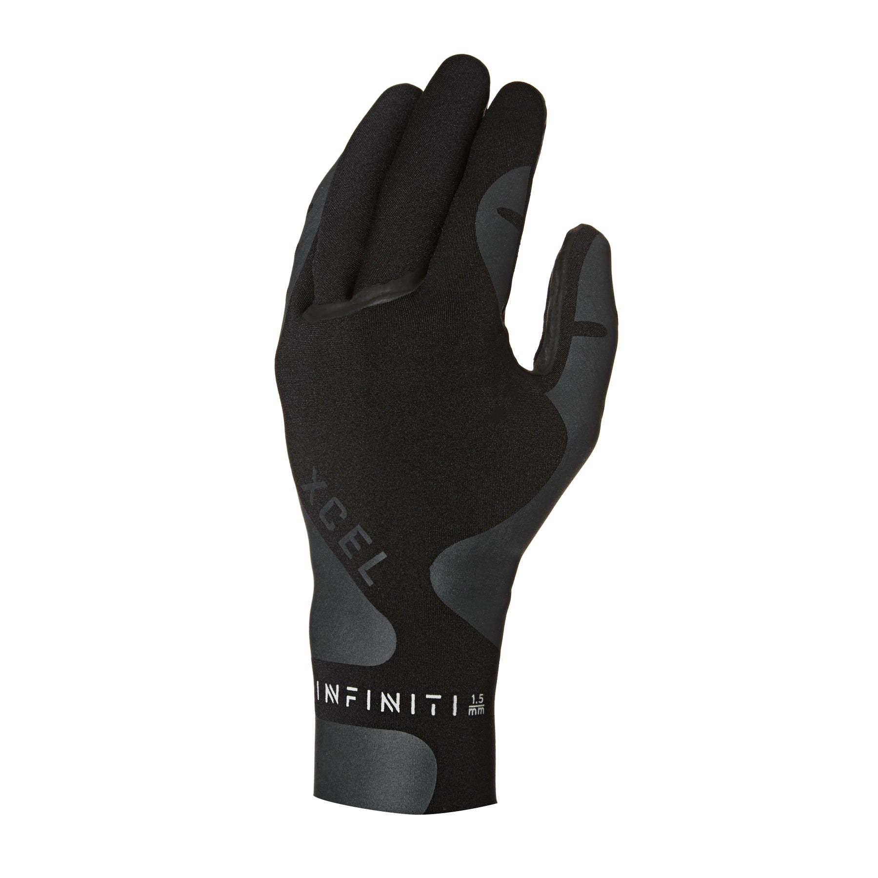 Xcel Infiniti 1.5mm 2019 5 Finger Wetsuit Gloves - Black