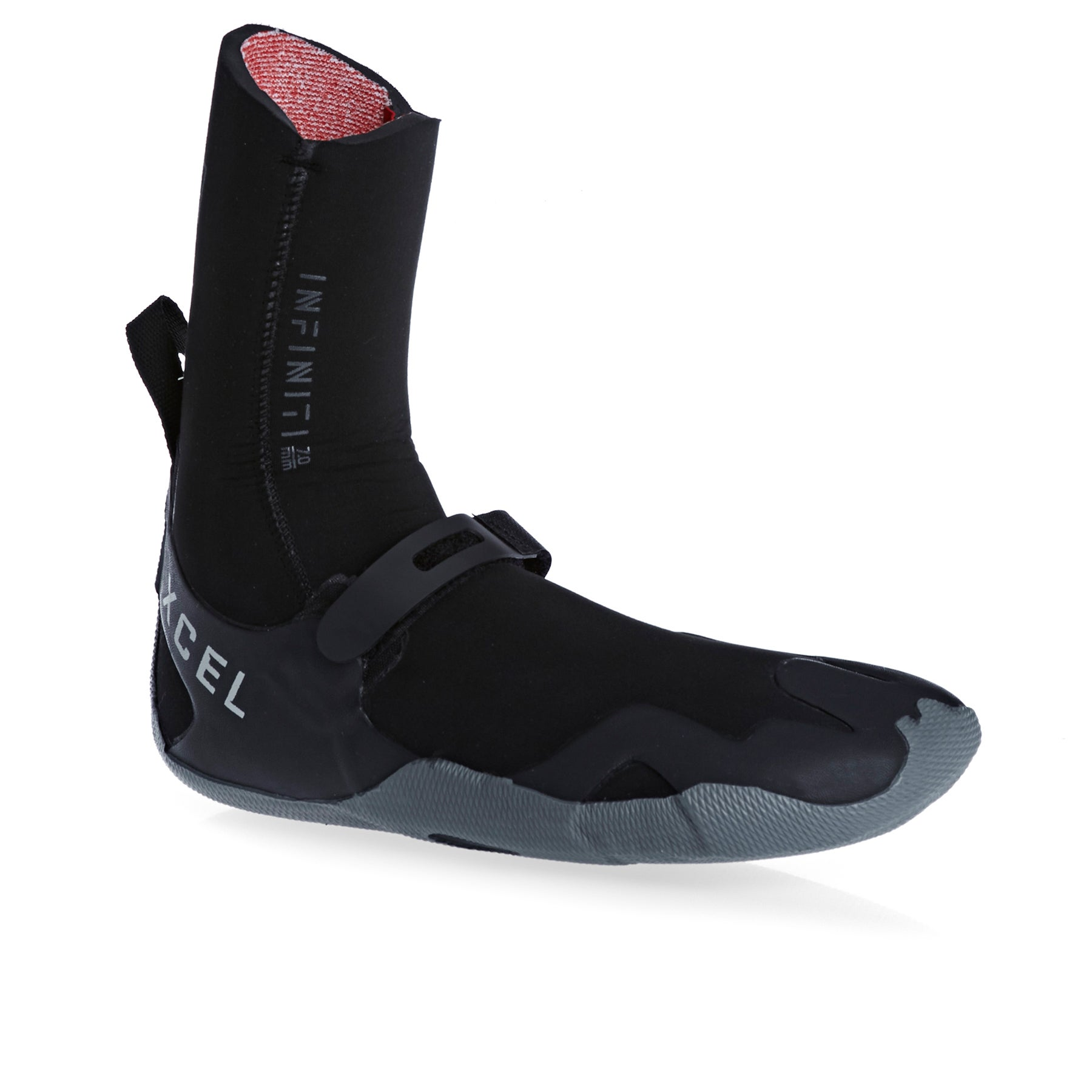 Xcel Infiniti 7mm Round Toe Wetsuit Boots - Black