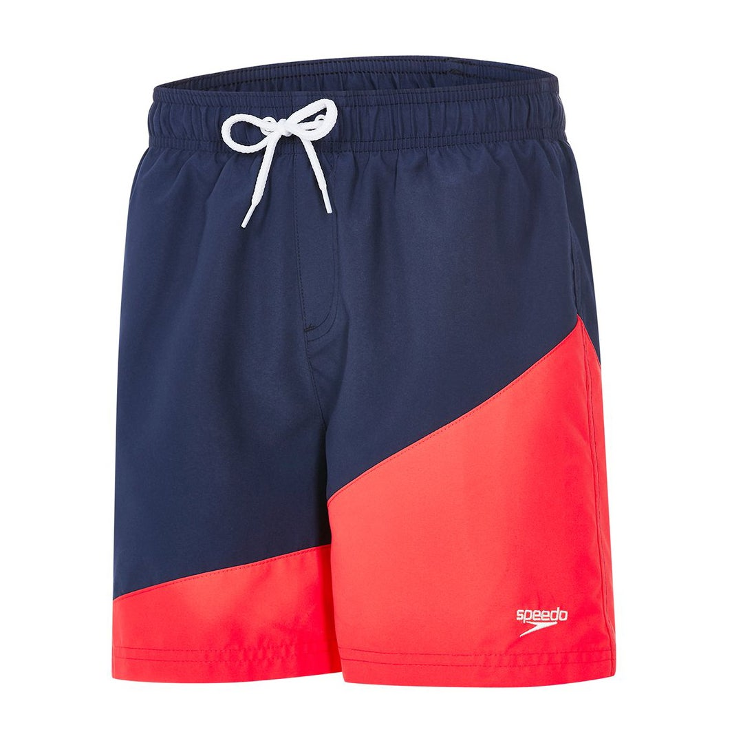 Shorts de Bain Speedo Colour Block 15 - Navy Lava Red