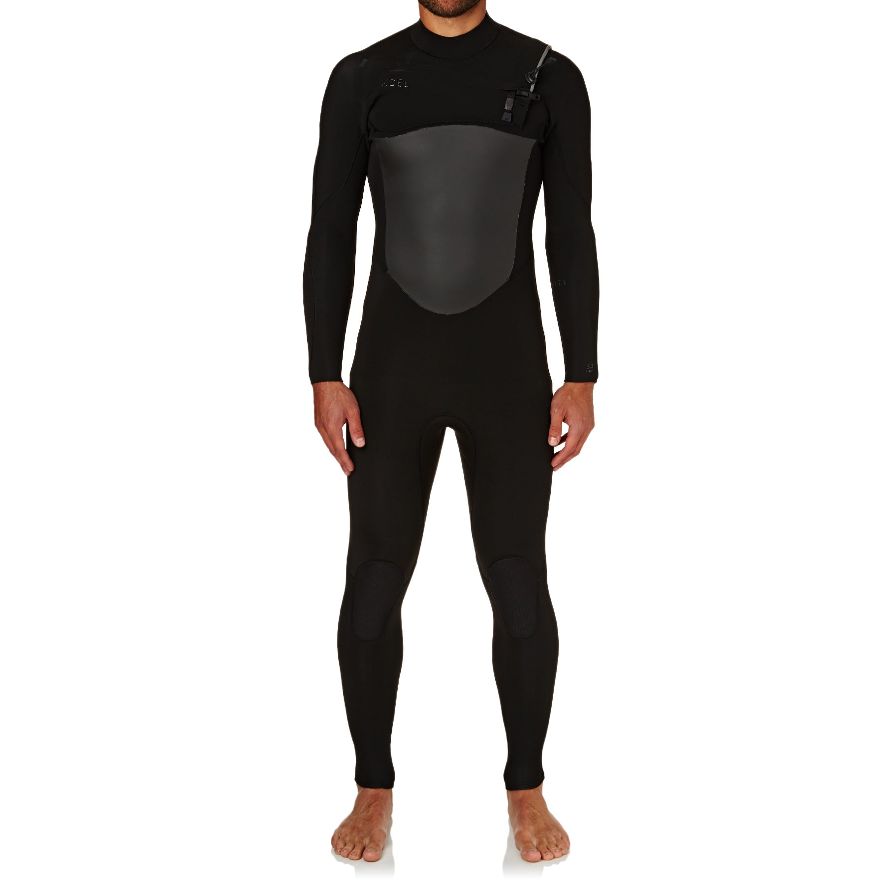 Xcel 5-4mm 2018 Infiniti Limited Edition X2 Chest Zip Wetsuit - Slate Black